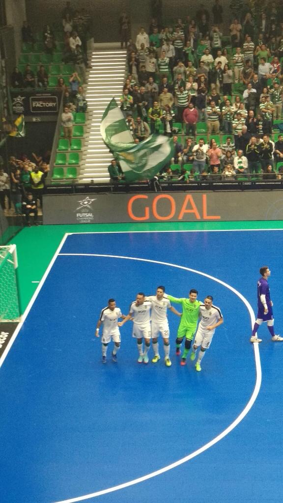 3afa93cee6 Futsal  Sporting – NV Makarska 6-0 (4-0)