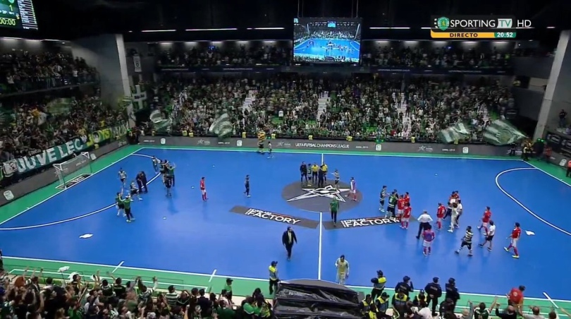 3837550c95 Futsal  SL Benfica – Sporting Clube de Portugal 1-1 (1-1)